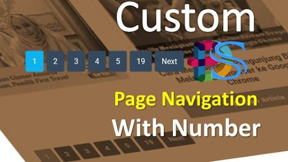 Custom Page Navigation With Number