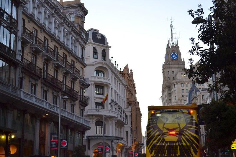 Espagne, Madrid, Gran Via