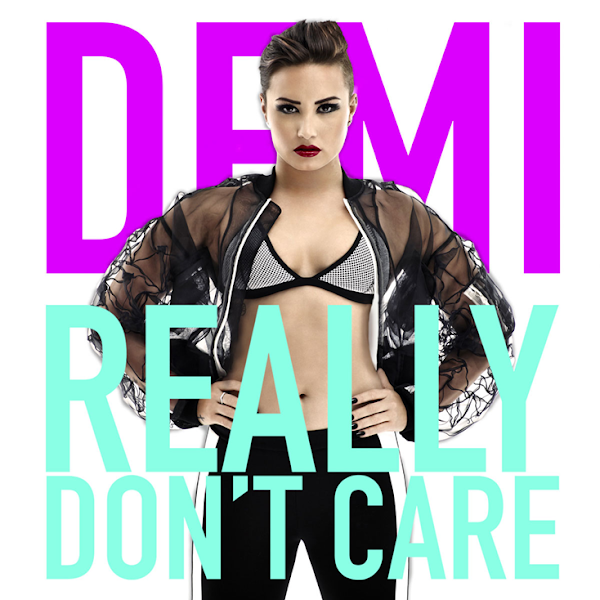 "Confira a capa e os remixes oficiais de ""Really Don't Care"", da Demi!"