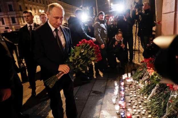 Trump offers condolences to Putin after St. Petersburg blast