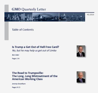 GMO Quarterly Letter 4Q 2016