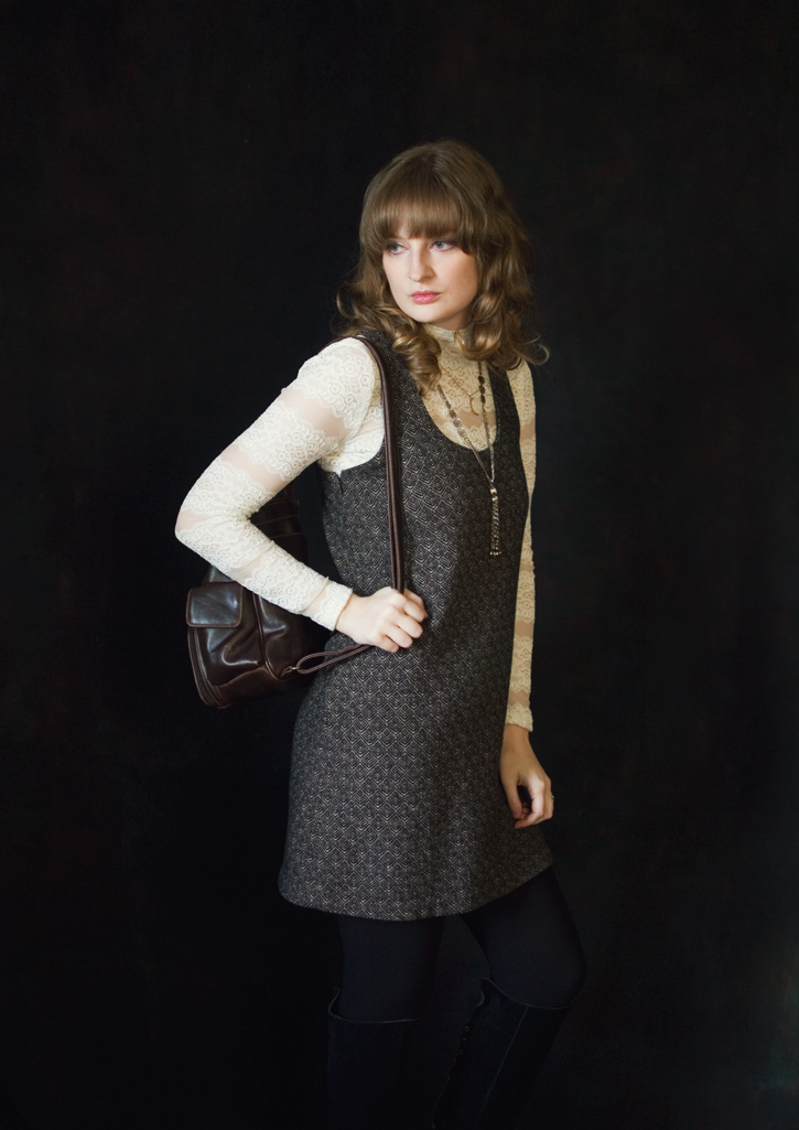 The Flying Clubhouse: Lace and Wool | outfit