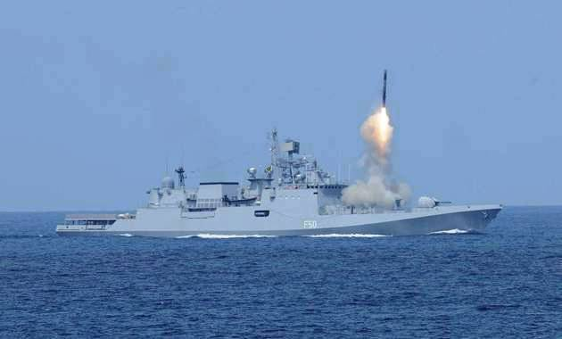 Indian Navy successfully test fires Medium Range Surface to Air Missile (MRSAM) missile