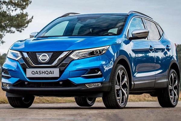 Nissan Qashqai SUV mas vendida España