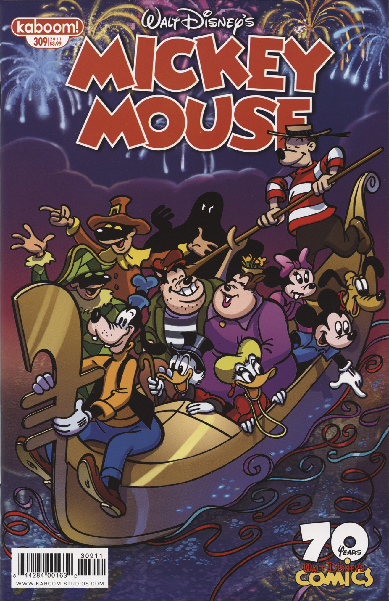 Read online Mickey Mouse (2011) comic -  Issue #309 - 1
