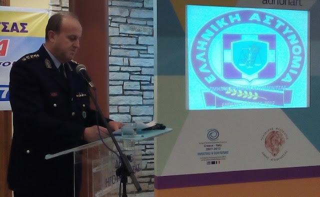 Θεσπρωτία: Σε ταξίαρχο προήχθη ο αστυνομικός διευθυντής Θεσπρωτίας Ηλίας Ντόντης και παραμένει...