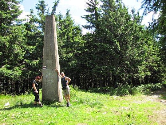 Radziejowa (1266 m n.p.m.) - najwyższy szczyt Beskidu Sądeckiego.