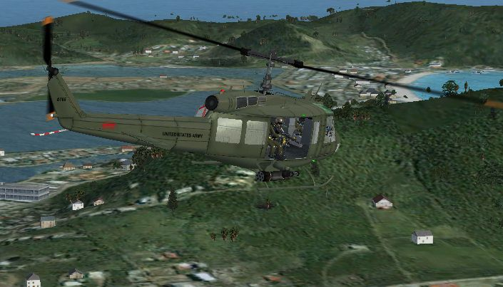 FS-telechargement: Bell UH-1 Huey Helicopter