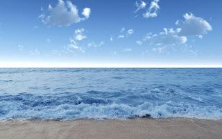 Golven op strand
