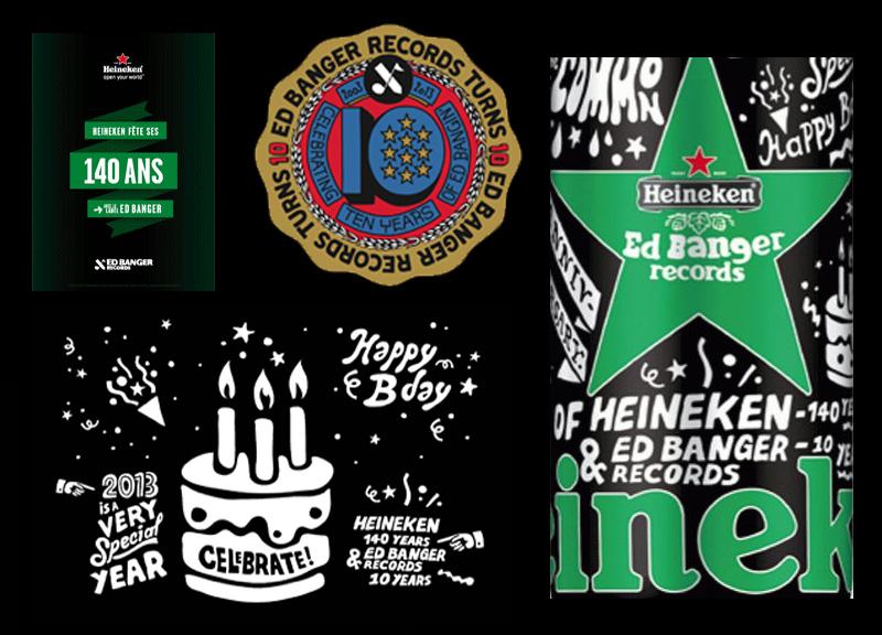 Heineken X Ed Banger Records
