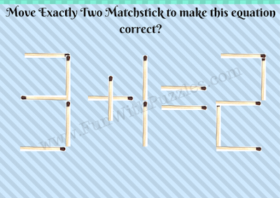 Matchstick Math Brain Teasers Picture-4