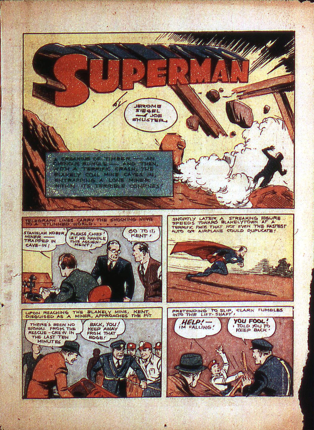 Read online Action Comics (1938) comic -  Issue #3 - 3