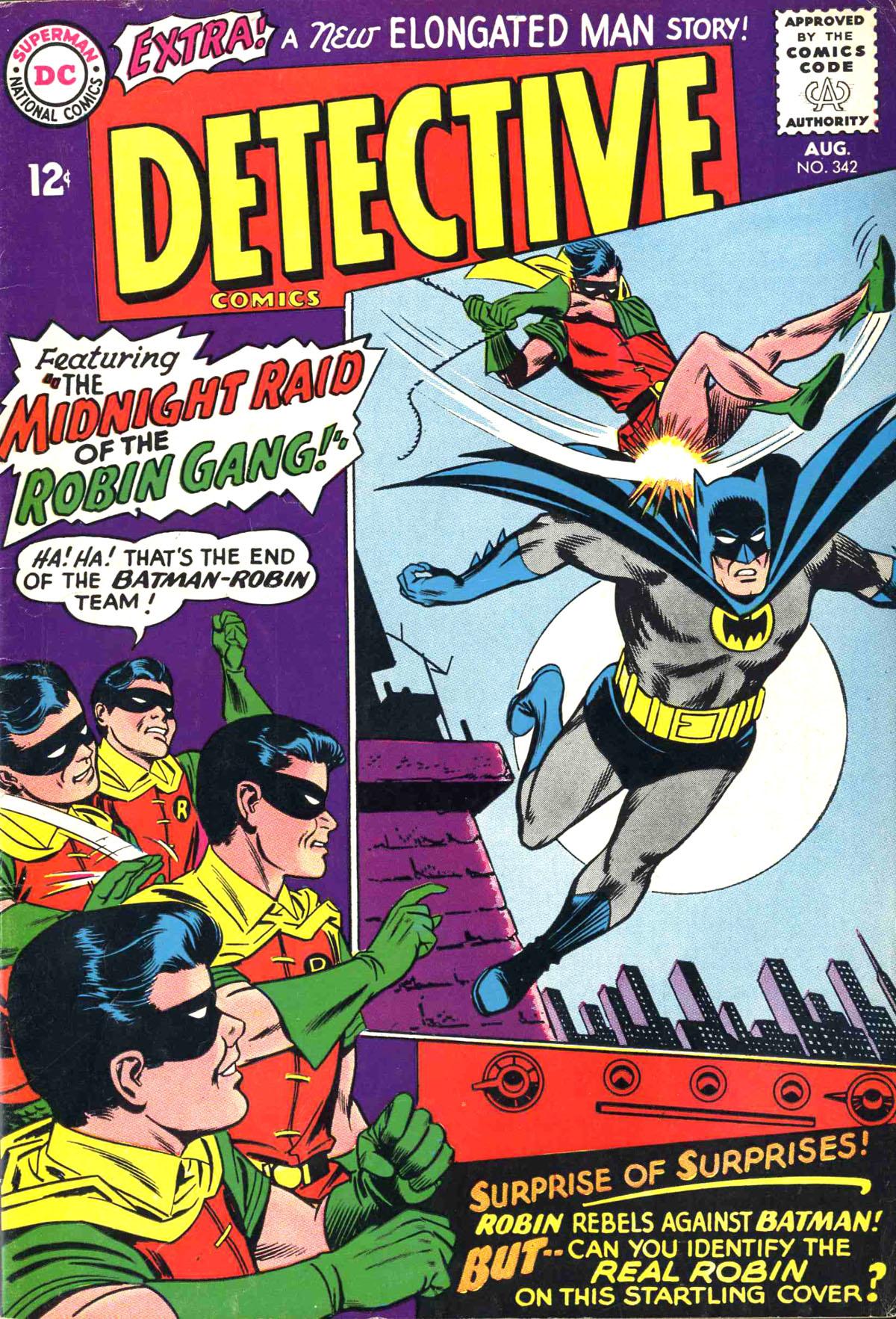 Detective Comics (1937) 342 Page 1