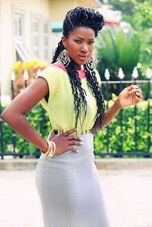 Stephanie Okereke Is New Ambassador For Kanekalon Hair!! 2