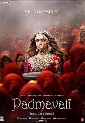 Padmaavat 2018 Hindi New HQ 480p Pre-DVDRip 450MB Mkv