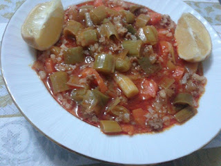 Leeks with Beef (Etli Pirasa)