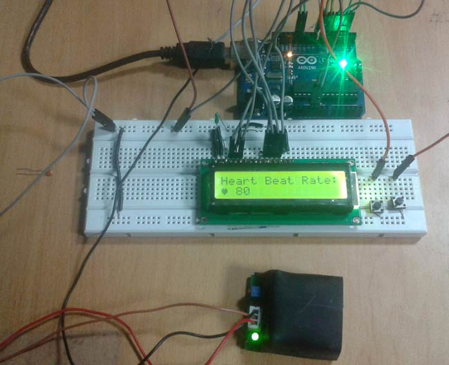 Arduino based heartbeat monitor project 2016 electronics lovers this is diy project so i request to every electronics lovers to make this project by yourself this project is very simple if you found any difficulty solutioingenieria Choice Image