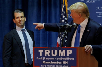 Trump is spinning himself into a frenzy over possibility that Don Jr. will go to prison