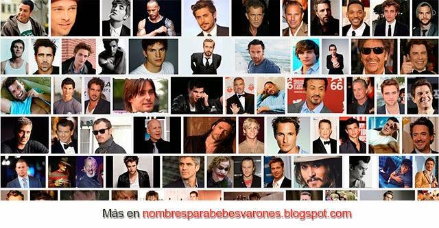 nombres de hombres famosos