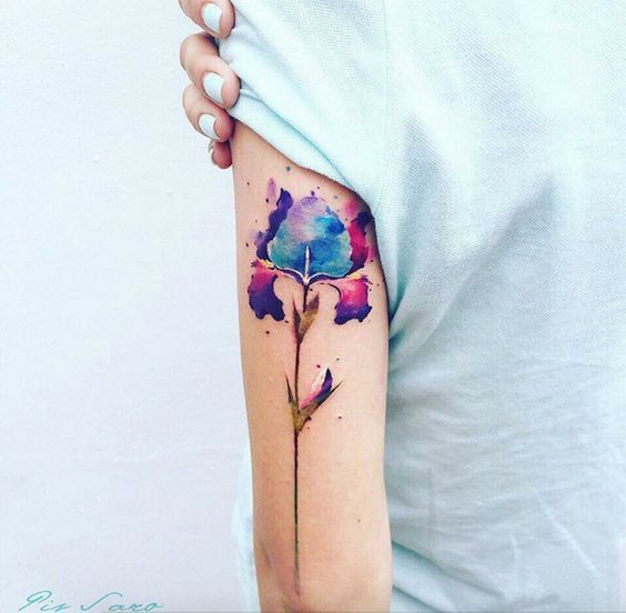 50 Beautiful Floral Tattoos Designs And Ideas For Boy And Girls