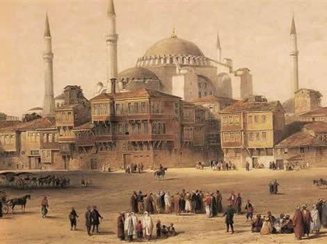 Ottoman mosque, Aya Sofya (1852)