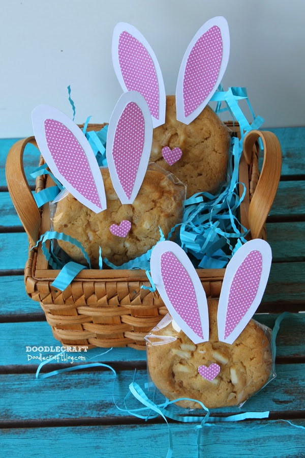 Doodlecraft easter bunny cookies givebakery negle Choice Image