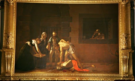 10 Out Of The Most Beautiful Paintings Of All Time - The Beheading of Saint John the Baptist by Caravaggio (1608)