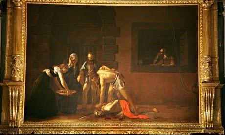 Are right, st john the baptist caravaggio