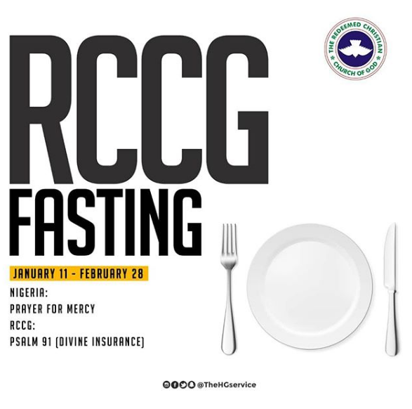 RCCG 2019 Fasting and Prayer Points Guidelines | Daily Devotional