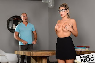 Dirty Masseur – August Ames: Study Buddies