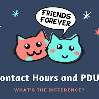 What is the difference between Contact Hours and PDU?