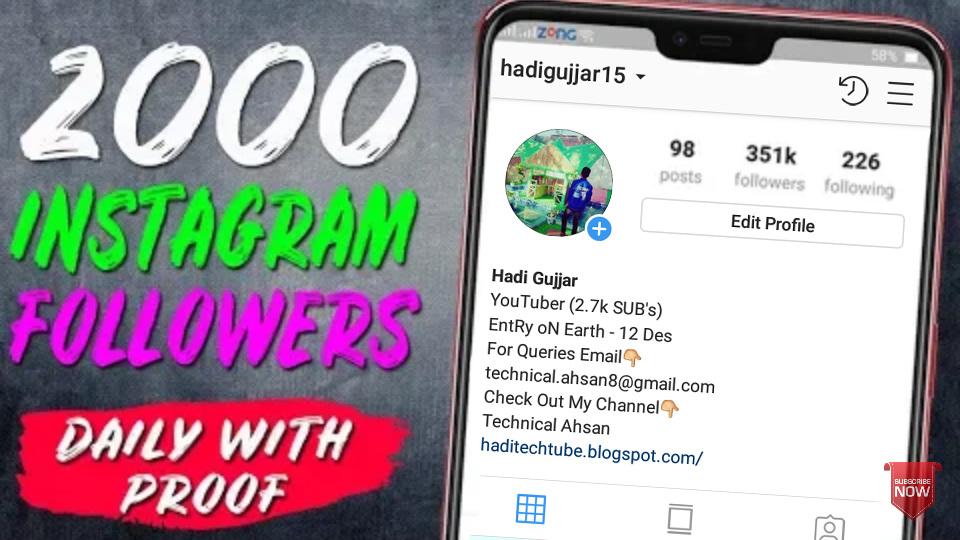 Get Free Followers Daily | Famoid Free Instagram Followers
