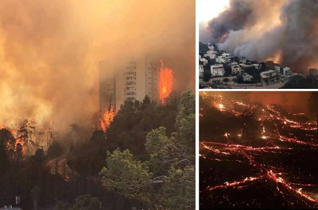 [Video] Usai Larang Azan, Israel Dilanda Kebakaran Hebat