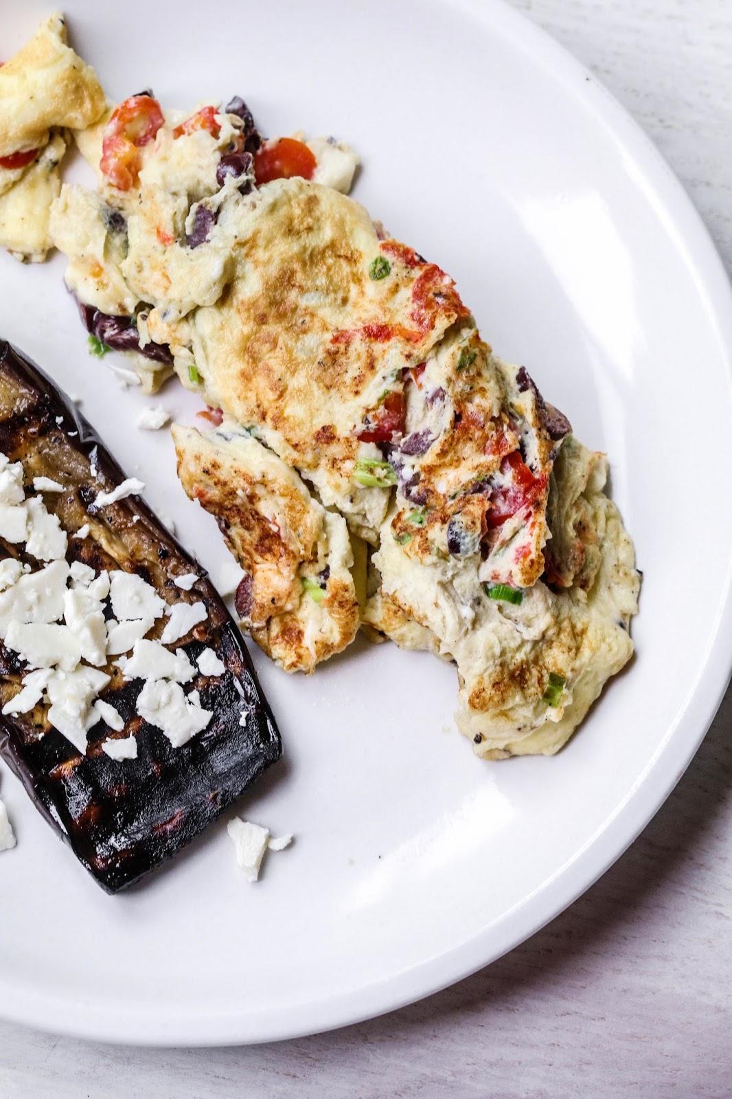feta omelette