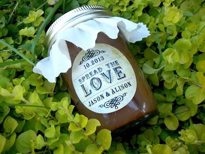 spread the love jar label