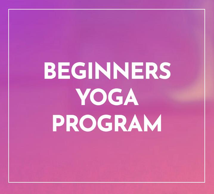 Beginners Yoga Program