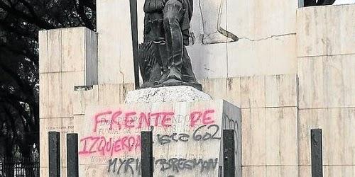 Contaminación visual en monumentos
