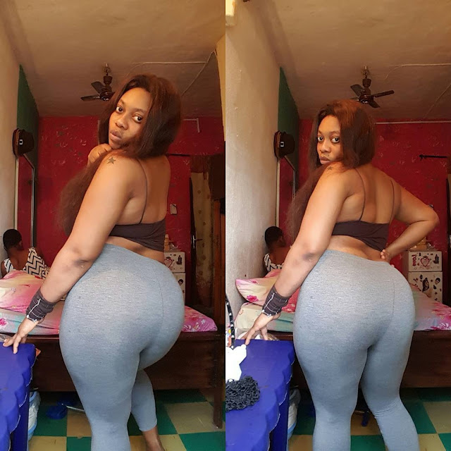OMG : Nigerian Lady Undergoes Massive Hips And Bu'm Implants? (See Photos + Video)