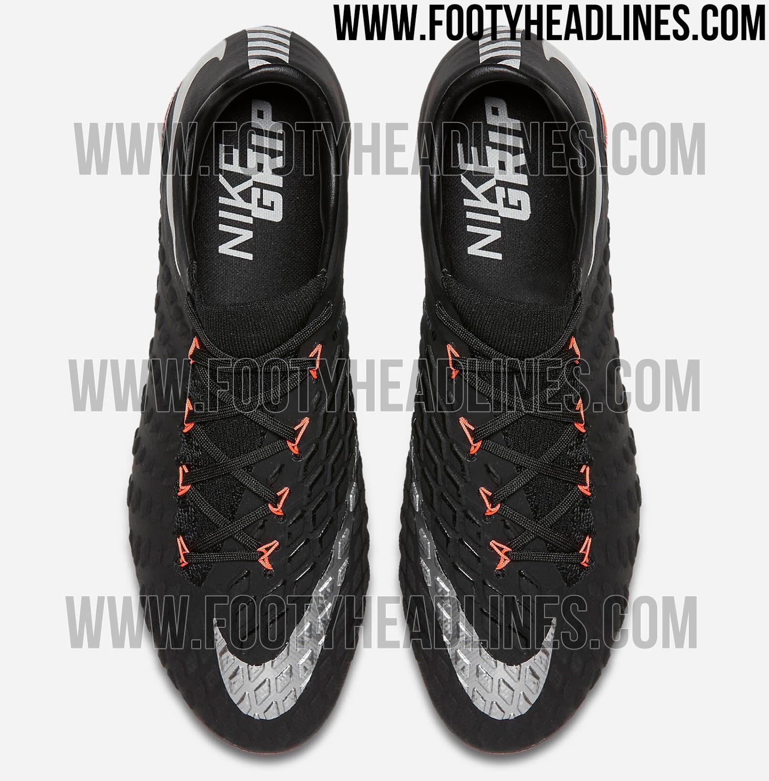 Soccer Nike Hypervenom Phantom III DF FG Footwear