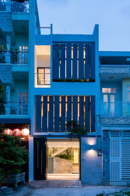 Ngôi nhà phố đẹp phong cách thanh lịch và đầy tiện nghi