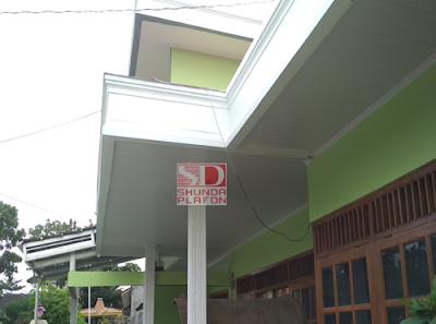 Pemasangan Shunda Plafon di Rumah Bapak Wisnu - Shunda Plafon Purwokerto