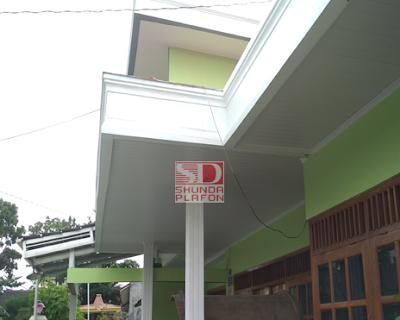 Pemasangan Shunda Plafon di Rumah Bapak Wisnu
