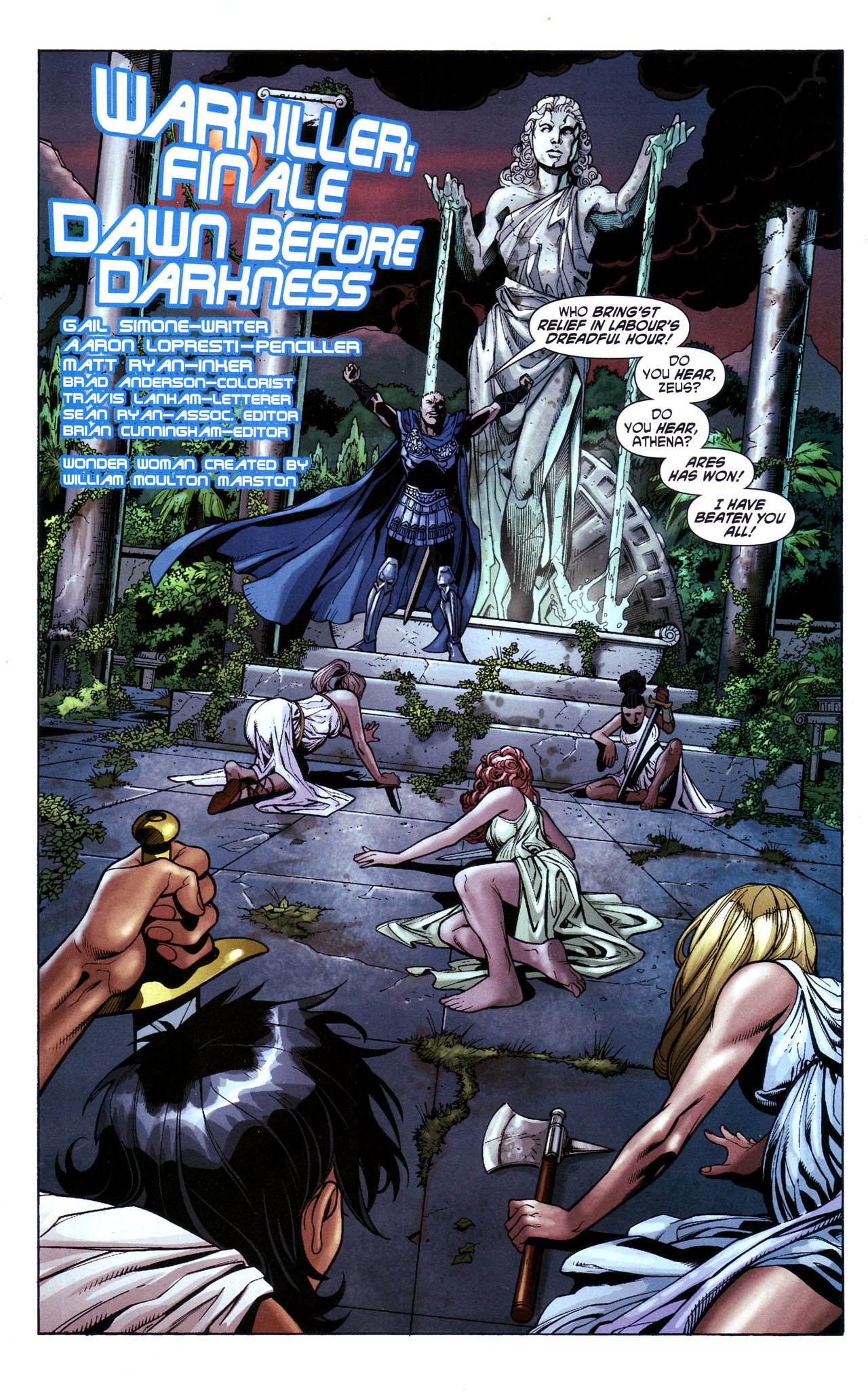 Read online Wonder Woman (2006) comic -  Issue #39 - 3