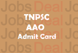 TNPSC AAO Admit Card 2017