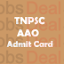 TNPSC AAO Admit Card 2017 Assistant Agricultural Officer Hall Ticket