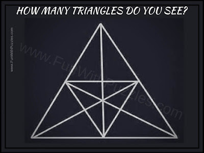Puzzle Picture in which your challenge is to count number of triangles