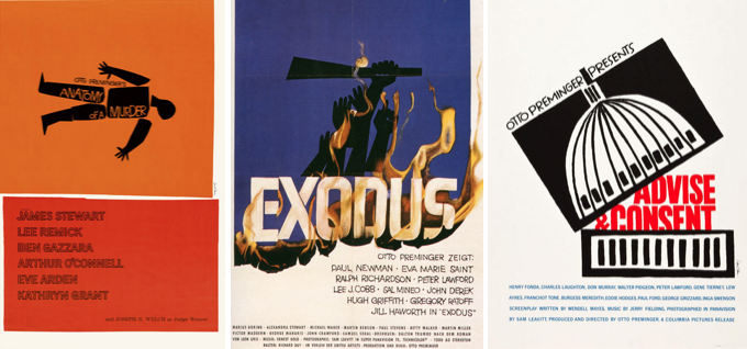 The work of Saul Bass
