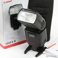 Canon Speedlite 580EX II Reference
