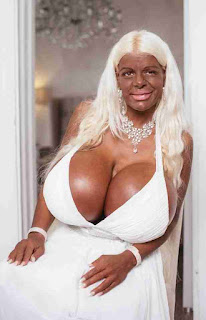 Martina Big tanned German model