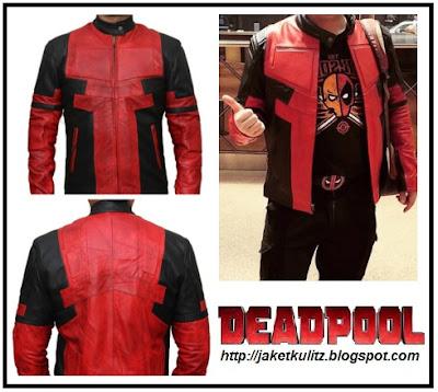 Gambar Model Jaket Kulit Deadpool Terbaru